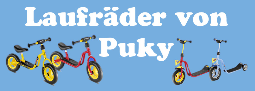 Laufräder/Roller PUKY