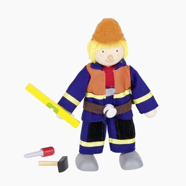 Biegepuppe Bauarbeiter 1