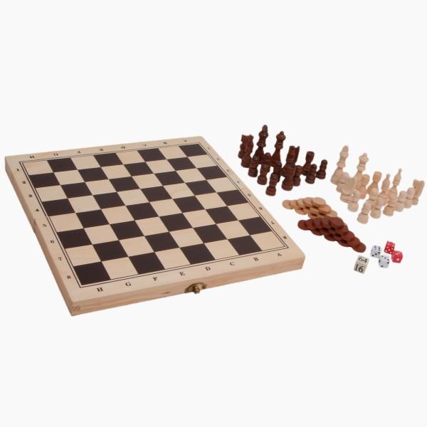 Schach, Backgamon & Dame